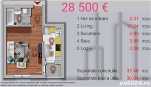 Garsoniera 31 mpu zona Militari Str Sperantei - imagine 6