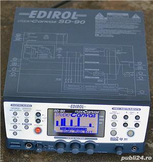 Roland Edirol SD 90 Studio Sound Canvas Sintetizator Synthesizer Modul Sunet GS GM2 XG SRX JD XV - imagine 6