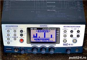 Roland Edirol SD 90 Studio Sound Canvas Sintetizator Synthesizer Modul Sunet GS GM2 XG SRX JD XV - imagine 1