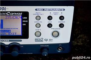 Roland Edirol SD 90 Studio Sound Canvas Sintetizator Synthesizer Modul Sunet GS GM2 XG SRX JD XV - imagine 4