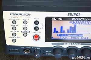 Roland Edirol SD 90 Studio Sound Canvas Sintetizator Synthesizer Modul Sunet GS GM2 XG SRX JD XV - imagine 3