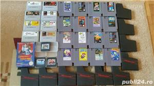 30  jocuri SNES , NES , N64,SEGA GEAR , vintage,COLECTIE - imagine 1