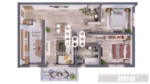 Apartament 3 cam, finisat la cheie, cu sau fara gradina. Selimbar - imagine 6