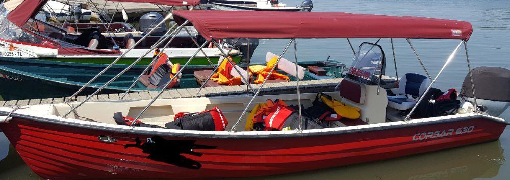 Inchiriez barca cu motor 20 cp - imagine 2