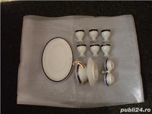 Serviciu portelan nemtesc de masa, 35 piese, cu suporturi oua - imagine 11