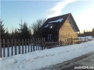 Cabana in lucru cu teren in Belis  - imagine 1