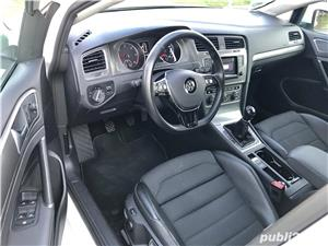 Golf 7 , 135000 km , istoric VW , an 2014 , piele/navi/masaj/parkpilot - imagine 6