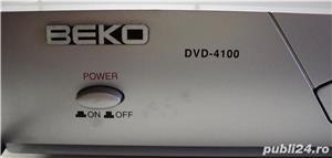 DVD PLAYER BEKO DVD 4100 Producator: Beko  Redare DVD, CD-DA, CD-R/RW, MP3, JPEG  Decodor Dolby - imagine 3