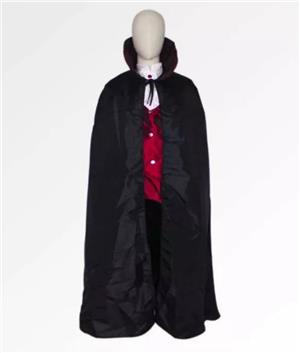 Costum complet de vampir cosplay comic con + bonus - imagine 1