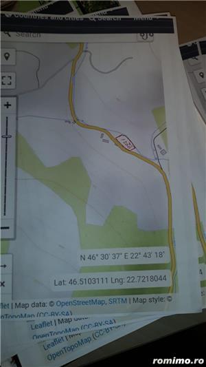 Vând teren cabană-Arieșeni 1200mp - imagine 3