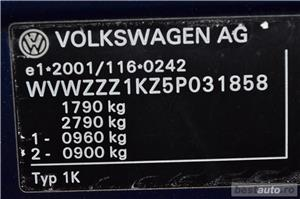 Vw Golf 5 AN:2005=avans 0 % rate fixe aprobarea creditului in 2 ore=autohaus vindem si in rate - imagine 18