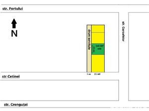Teren Domnesti 590 Mp, Deschidere 25ml, Intravilan - imagine 1