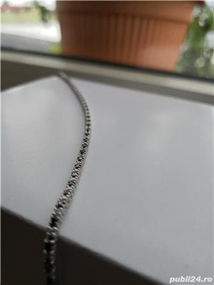 Bratara cu diamante negre si albe model Tennis - imagine 4