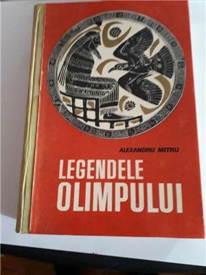 Ofer Legendele Olimpului  tipărită în 1965 în 520 pagini - imagine 1
