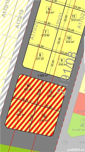 Vand parcela de casa  mosnita noua si de blocuri  la asfalt - imagine 4