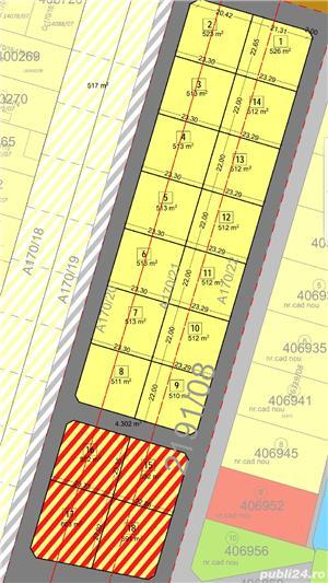 Vand parcela de casa  mosnita noua si de blocuri  la asfalt - imagine 5