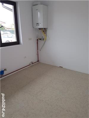Sacalaz, casa noua unifamiliala sau duplex, constructie noua caramida la cheie cu GAZ, CURENT, apa  - imagine 1