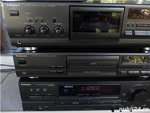 Linie TECHNICS Sa-Ex140,SL-Pg370,Rs-Bx601 receiver cd cas 3 head telecomanda - imagine 4