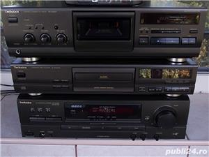 Linie TECHNICS Sa-Ex140,SL-Pg370,Rs-Bx601 receiver cd cas 3 head telecomanda - imagine 3