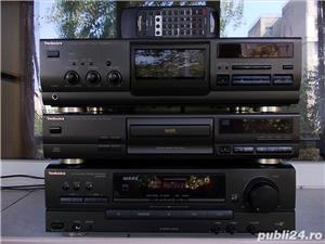 Linie TECHNICS Sa-Ex140,SL-Pg370,Rs-Bx601 receiver cd cas 3 head telecomanda - imagine 1