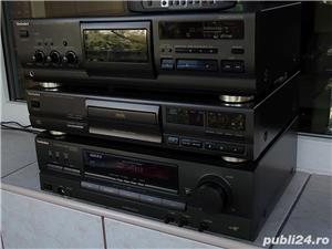 Linie TECHNICS Sa-Ex140,SL-Pg370,Rs-Bx601 receiver cd cas 3 head telecomanda - imagine 6