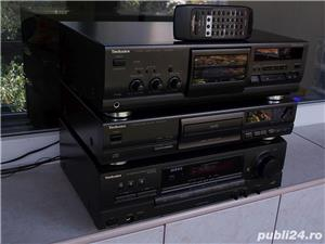 Linie TECHNICS Sa-Ex140,SL-Pg370,Rs-Bx601 receiver cd cas 3 head telecomanda - imagine 2