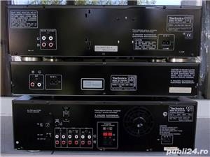 Linie TECHNICS Sa-Ex140,SL-Pg370,Rs-Bx601 receiver cd cas 3 head telecomanda - imagine 9