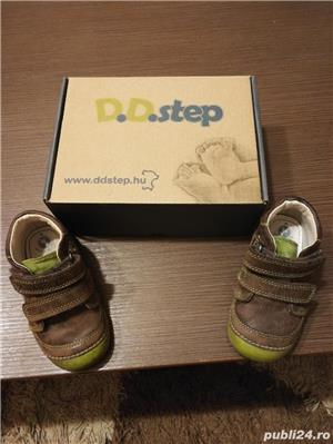 Vând încălțăminte din piele pt copii pt primii pași D. D. step - imagine 5