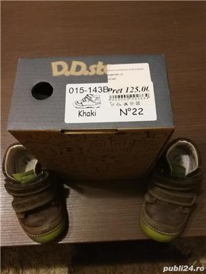 Vând încălțăminte din piele pt copii pt primii pași D. D. step - imagine 6