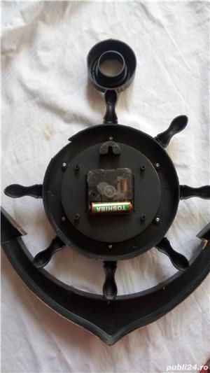 Vand ceas de perete,model navy - imagine 2