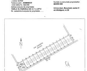 Teren intravilan 2 x 700 mp Domnesti, Unitatea Militara, Ciocarliei - imagine 6