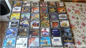 pachet de 110 jocuri ps1,playstation 1,originale,spate negru - imagine 9