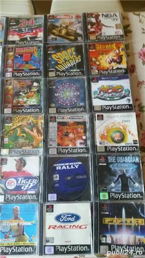 pachet de 110 jocuri ps1,playstation 1,originale,spate negru - imagine 3