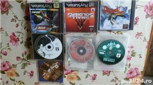pachet de 110 jocuri ps1,playstation 1,originale,spate negru - imagine 2