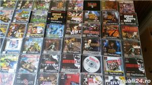 pachet de 110 jocuri ps1,playstation 1,originale,spate negru - imagine 6