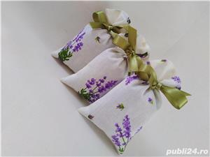 Saculeti (mărturii) cu floare de lavanda - imagine 2