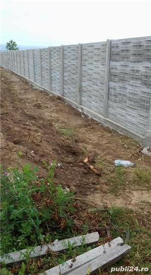 Constructii garduri din plăci de beton - imagine 4