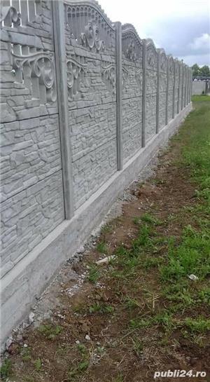 Constructii garduri din plăci de beton - imagine 5