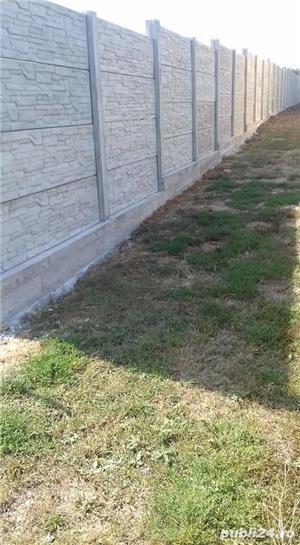 Constructii garduri din plăci de beton - imagine 7