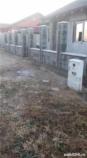 Constructii garduri din plăci de beton - imagine 3