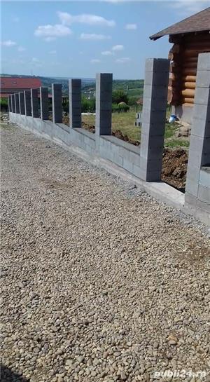 Constructii garduri din plăci de beton - imagine 8