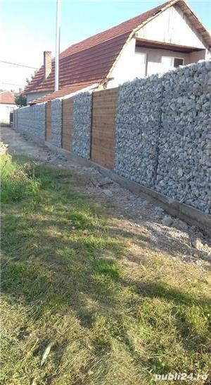Constructii garduri din plăci de beton - imagine 10