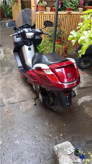 Scuter Peugeot Satelis 125cc turbo compresor italia - imagine 4
