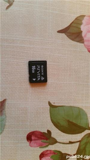 ps vita card 4 , 8,16 gb , sony , playstation , original - imagine 2