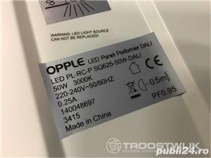 Corp iluminat NOU, Sigilat LED comercial lampa becuri Opple lumina - imagine 7