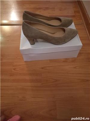 Pantofi piele marimea 40 - imagine 2