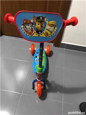Tricicleta paw patrol - imagine 2