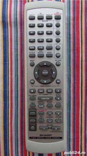 Telecomanda SHARP diverse modele pt.combina audio,sisteme audio - imagine 1