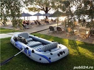 Intex barcă gonflabilă Excursion 5 cu vâsle și pompă - 5 persoane - imagine 1