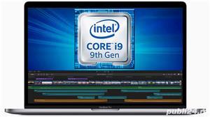 "Macbook Pro 15"" 2019 i9 8core 2.3GHz 16GB 512SSD Radeon Pro 560X SIGILAT IN CUTIE - imagine 2"
